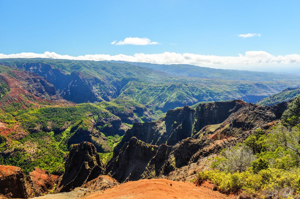 Waimea Canyon in Kauai, Hawaii Islands