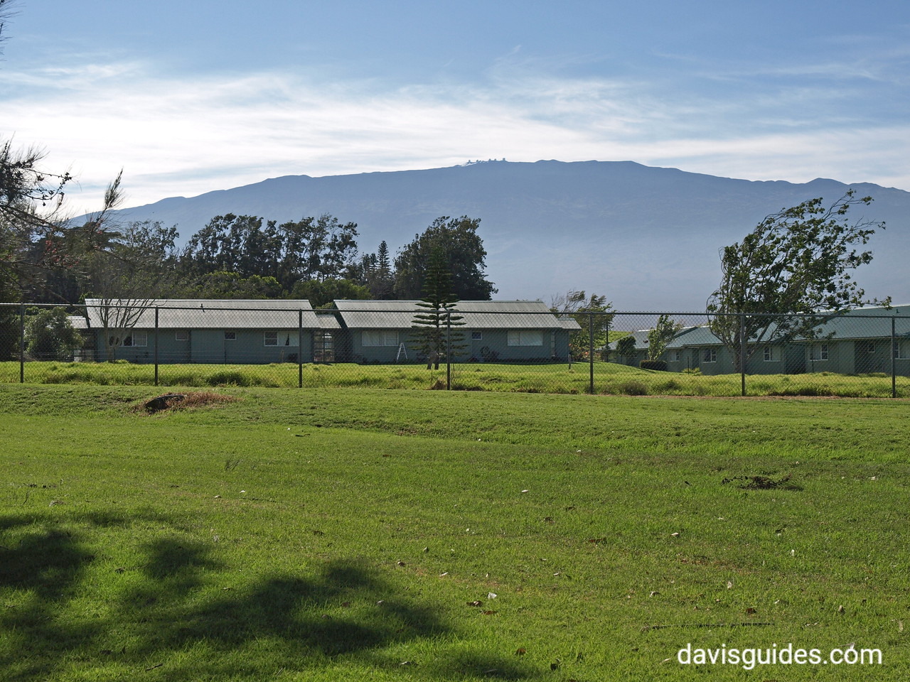 Mauna Kea summit from Waimea