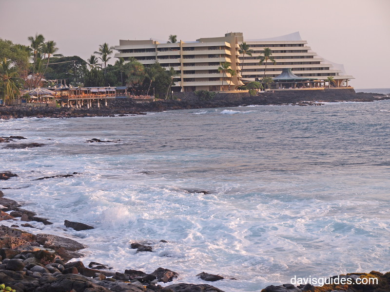 Royal Kona Resort Hotel on Kailua Bay