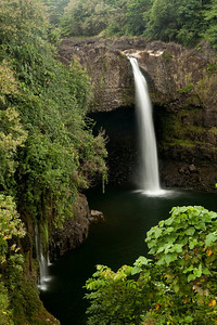 Rainbow Falls, Hawaii.