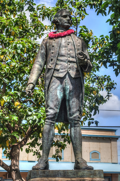 Captain James Cook Statue Kauai Hawaii