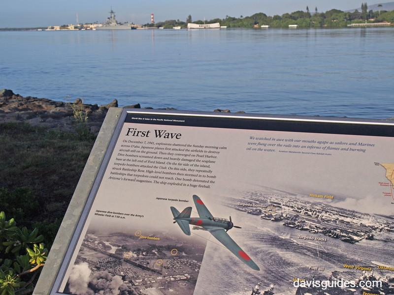USS Missour and Arizona Memorial, Pearl Harbor