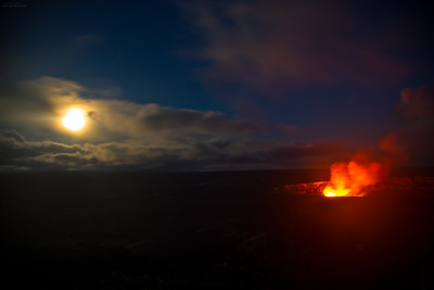 Moon and Fire