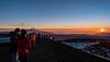 Sunset at the Summit of Mauna Kea