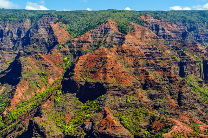 Waimea Canyon in Kauai, Hawaii Islands