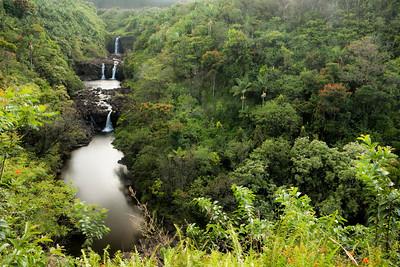 Umauma Falls, Hawaii.