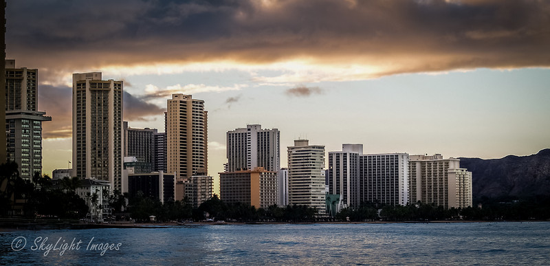 Honolulu shoreline