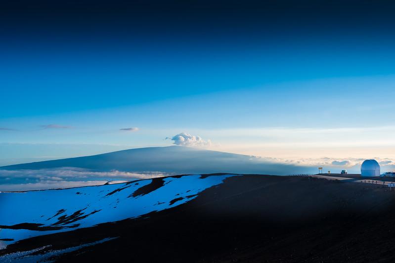 Looking at Mauna Loa