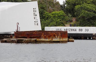 USS Arizona memorial, Pearl Harbor.