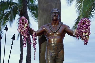 Duke Kahanamoku, Waikiki Beach.