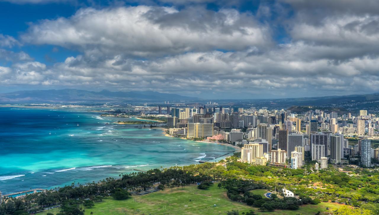 Honolulu and Mamala Bay