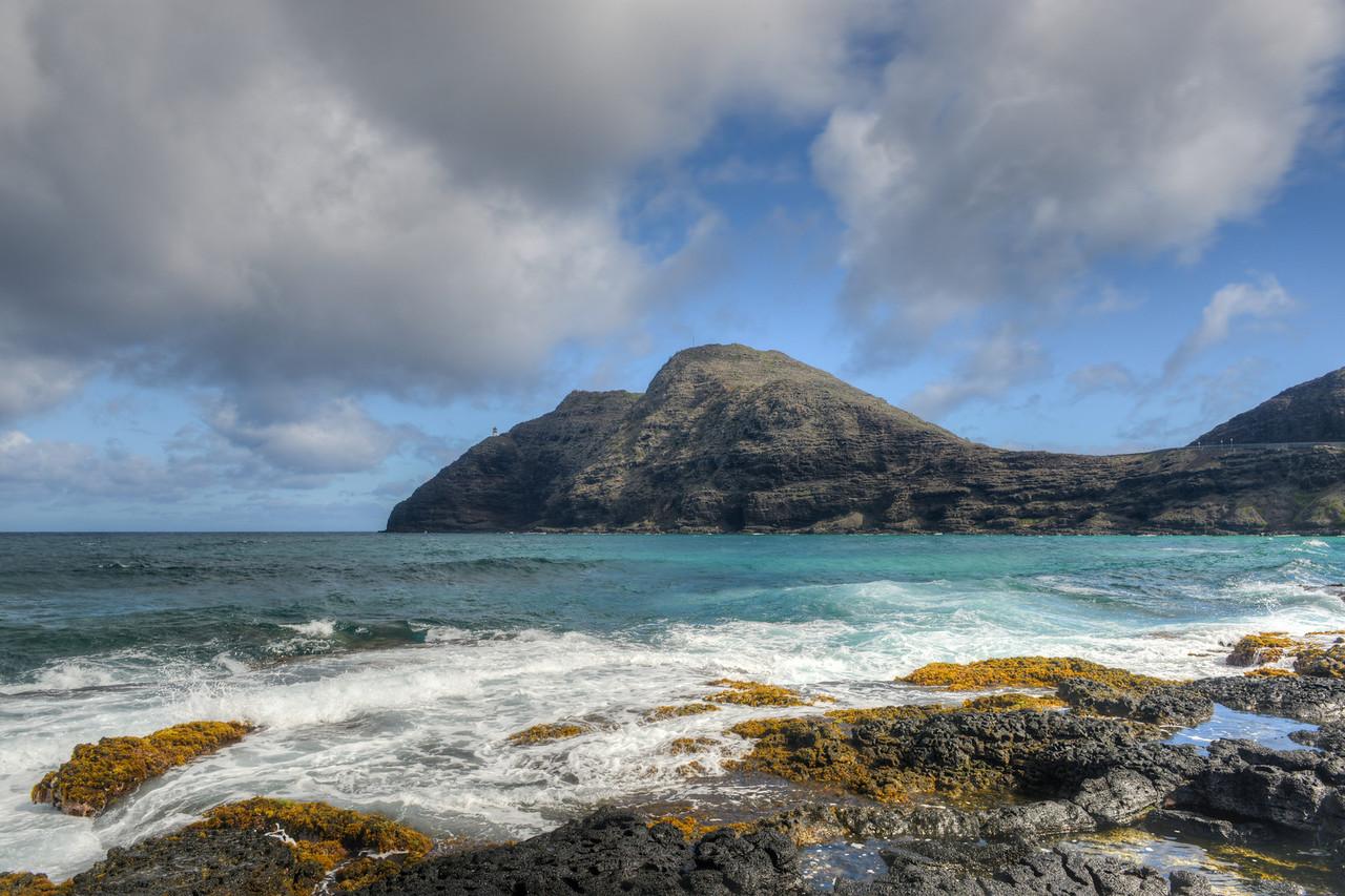 Dramatic landscape of Oahu, Hawaii
