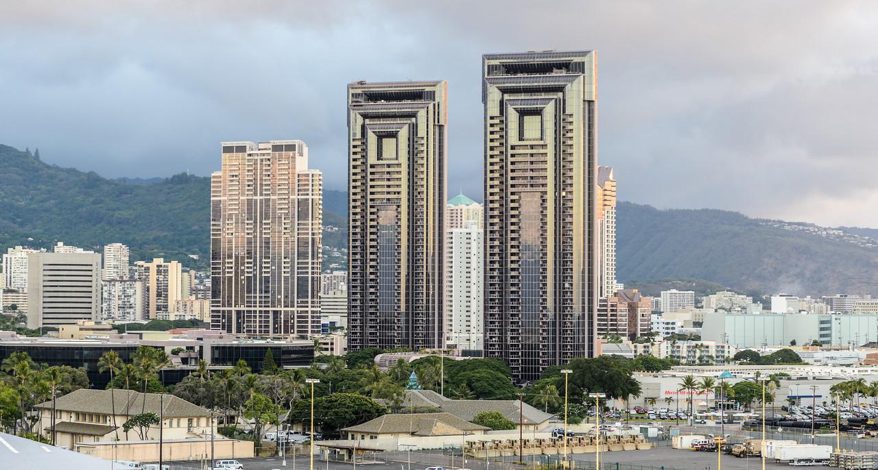 Skyline of Honolulu