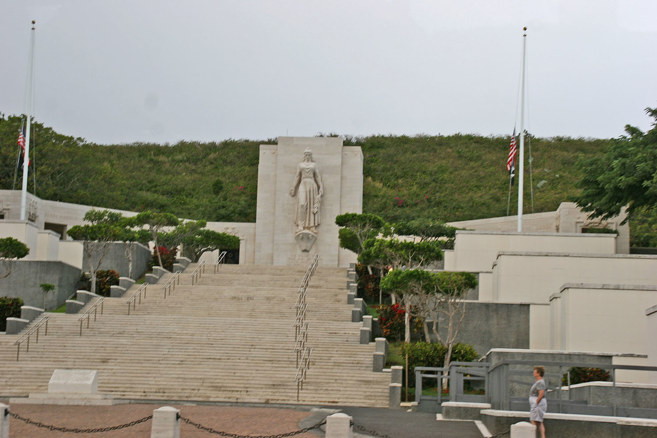 Punchbowl - National Cemetery of the Pacific