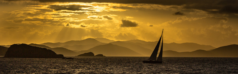 Caribbean WInter Sunset