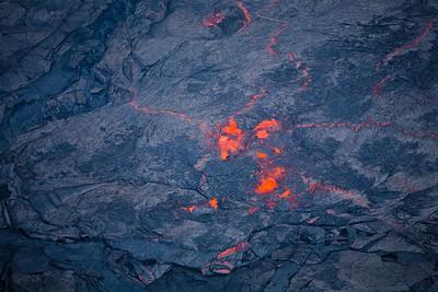 Kilauea's lava lake.