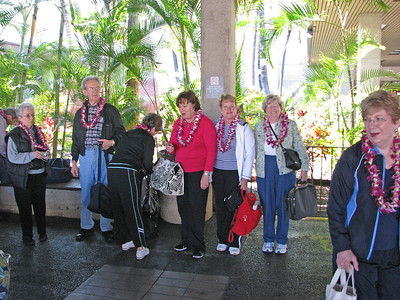 Arrival in Honolulu