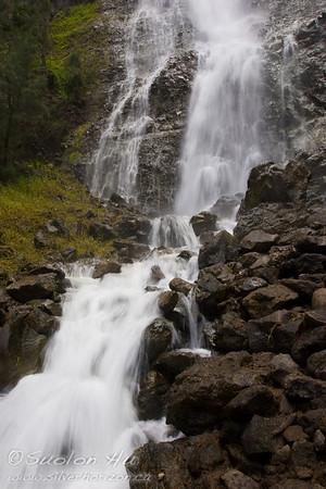 Kaluahina Falls, Hawaii.