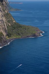 Waipio coastline