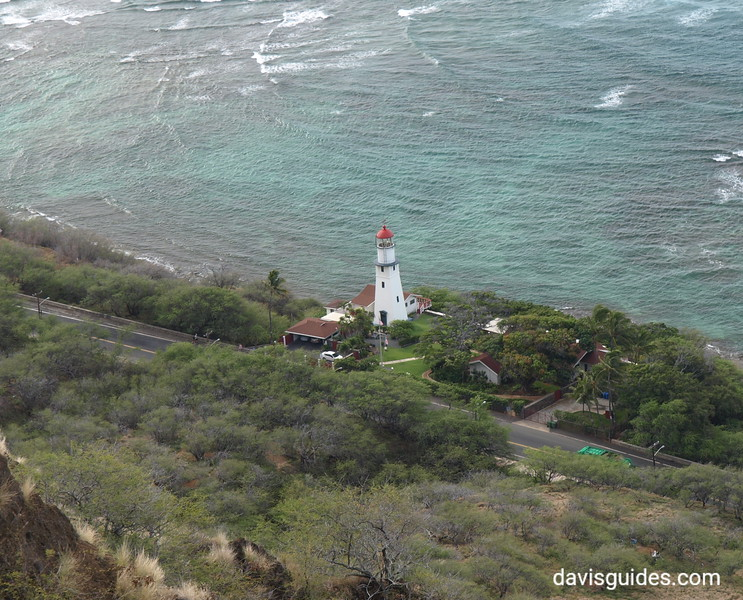 Historic Lighthouse below Diamondhead