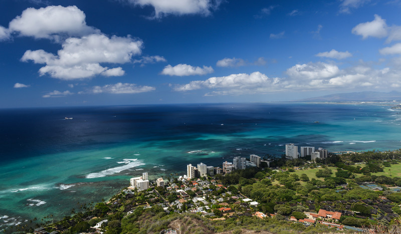 Honolulu and Mamala Bay