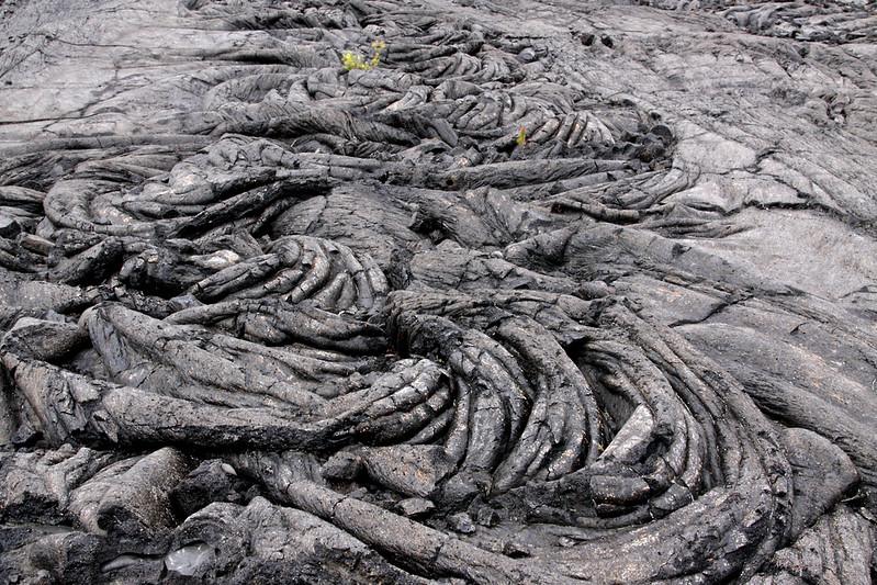 Lava Flow, Volcano National Park, Big Island.