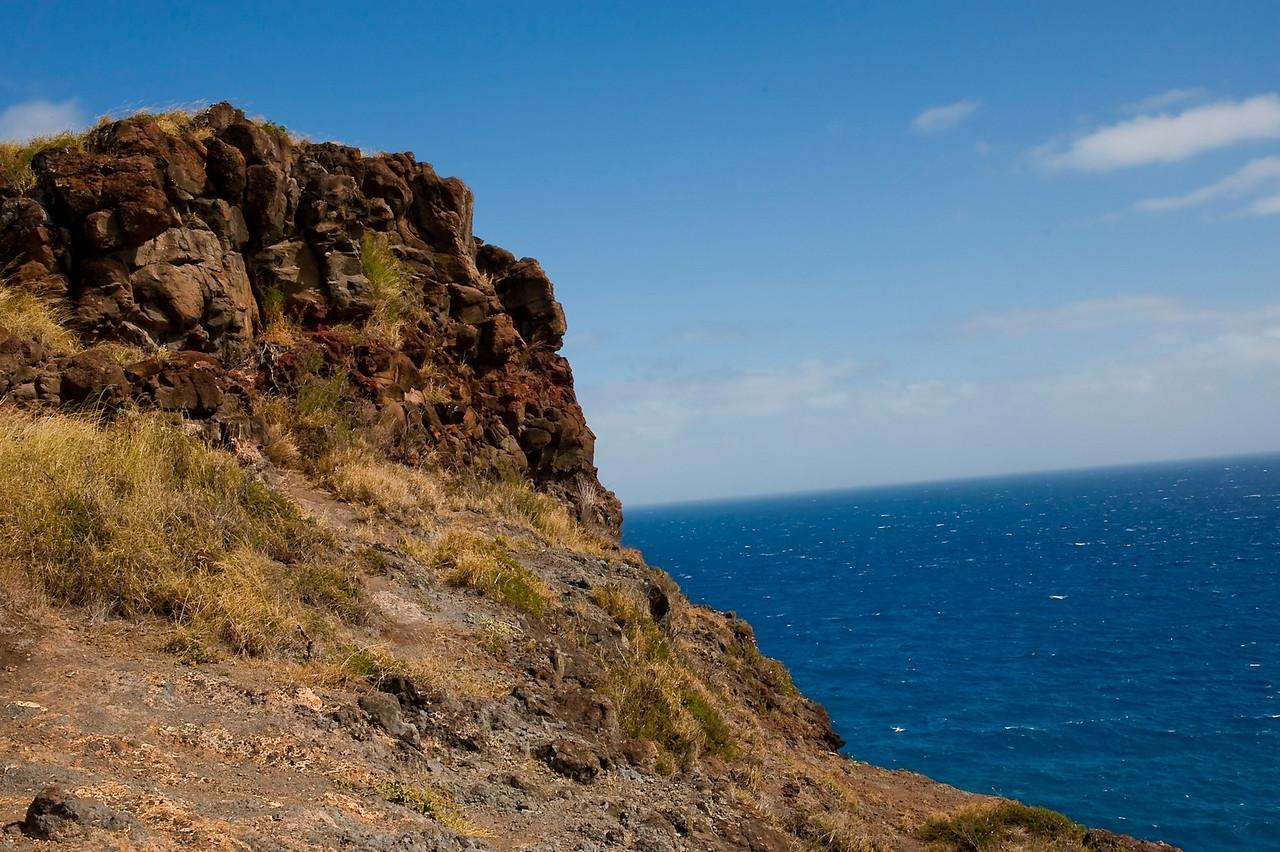 Views hiking up Makapu'u
