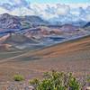 Hike into Haleakala