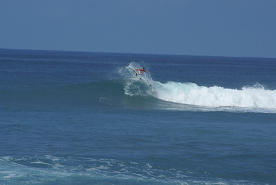 Pro surfing competition at the North Shore, Honolulu