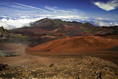 Haleakala Crater. Hawaii.