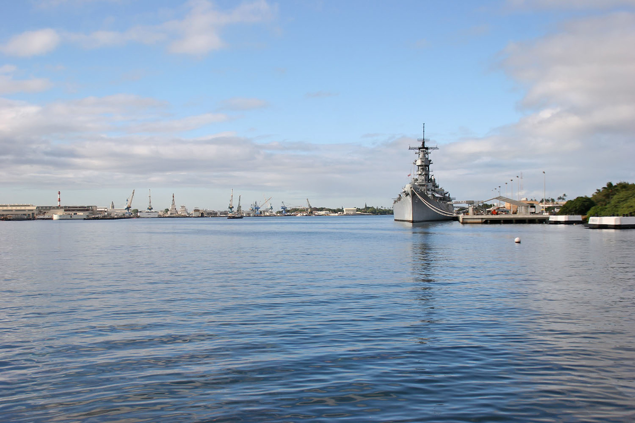 Battleship Missouri - Pearl Harbor