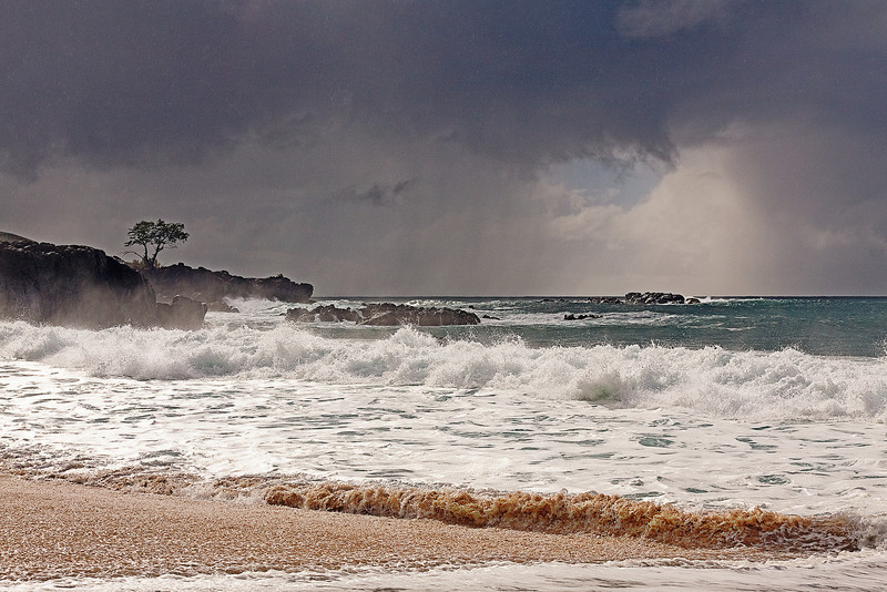 """It's Stormy Weather"" - North Shore, Oahu, Hawaii"
