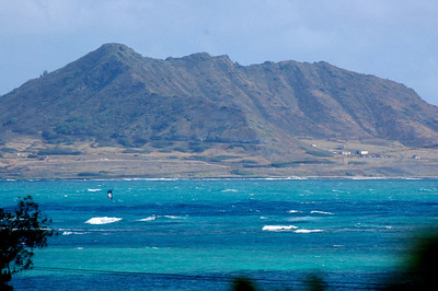 Kitesurfing in Kailua Bay - all day, every day -- it is perfect.