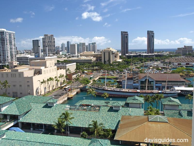 Honolulu from Aloha Tower