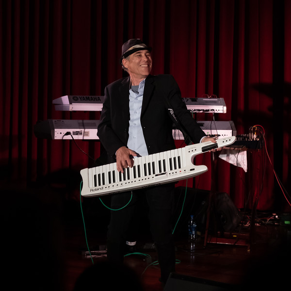 Gregg Karukas at Blue Note Hawaii<br /> June 2018 ( Performing with Peter White and Michael Paulo)