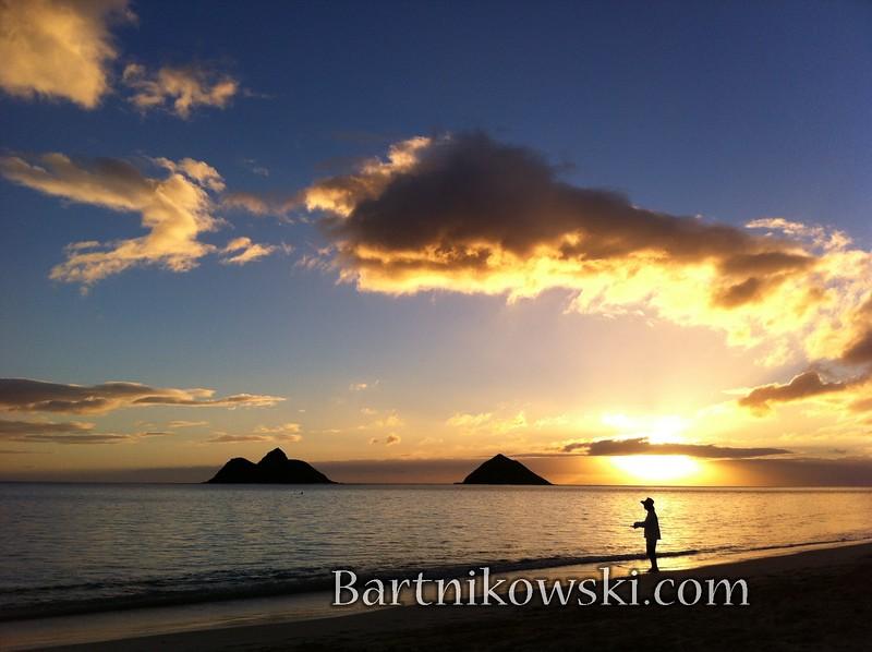 Lanikai, Beach, Oahu, Hawaii