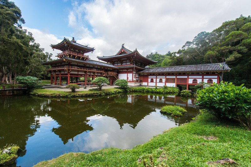 Byodo-In Temple, Valley of the Temples, Hawaii