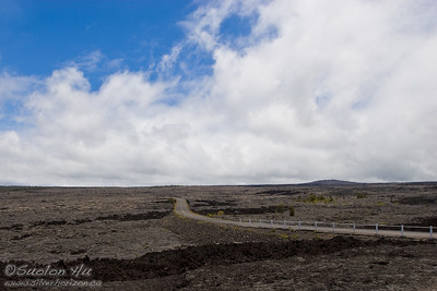 Chain of Craters Road in Hawai'i Volcanoes National Park.
