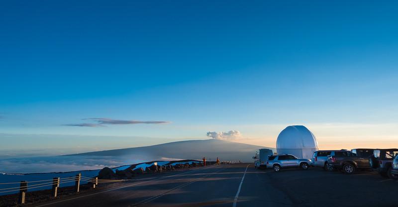 Summit at Mauna Kea