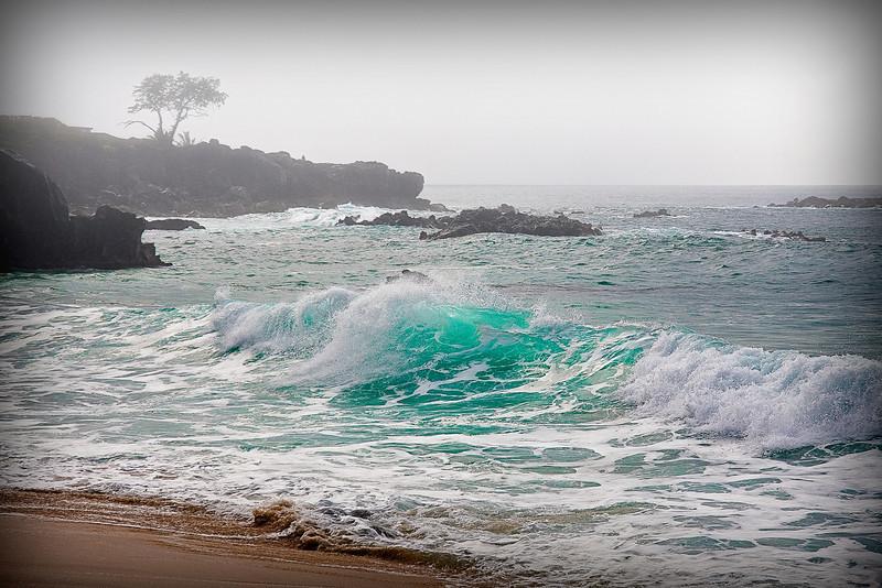 """""""Aqua""""  - North Shore - Oahu, Hawaii."""