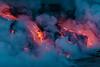 Lava ocean entry - boat tour