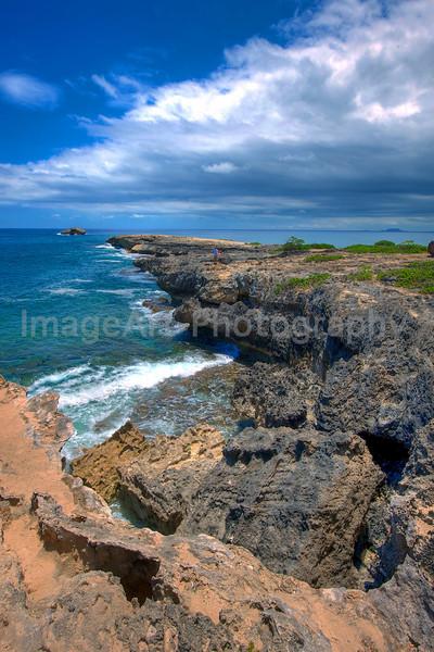 The island of Oahu, Hawaii