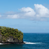"<span id=""title"">Outcropping</span> <em>Onomea Bay, Hawaii</em> Cool piece of land in the Onomea Bay. This was the first stop along the Old Mamalahoa Highway that parallels the modern freeway, HI-19, for a few miles North of Hilo. If you're not pressed for time, you should definitely take this scenic route."