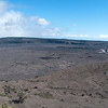 "<span id=""title"">Kilauea Caldera Panorama</span> <em>Hawaii Volcanoes National Park</em> The view from the Jagger Museum. The interior crater is Halema'uma'u, and 400-500 feet below that is the molten lava, spewing out sulfur dioxide. When my wife visited about 8 years ago she was able to stand on an overlook on the opposite side of the crater - you can't go there today. Unless you're reading this years after we visited, maybe it's changed by then. We stopped by here the first night on the Big Island and it's amazing to see the red glow from the crater, especially knowing that the lava is hundreds of feet below the surface."