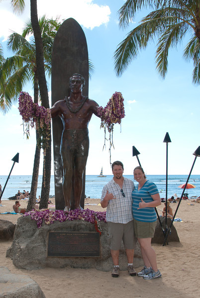 "<span id=""title"">Duke</span> <em>Waikiki, Oahu</em> If you want to know more about this all-around badass, just search his name - Duke Kahanamoku."