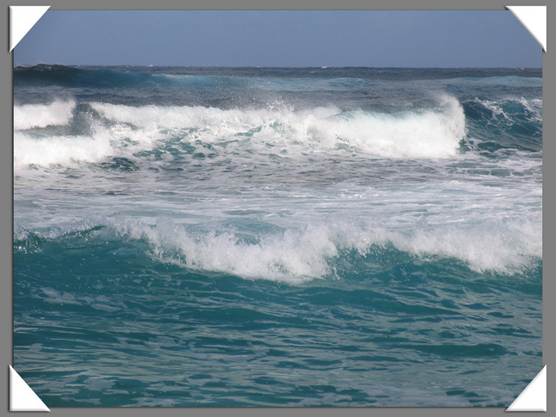 Gorgeous Waves....