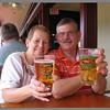 Hawaiian beer.  Yum! at Olympus Cafe, Kapaa, Kauai