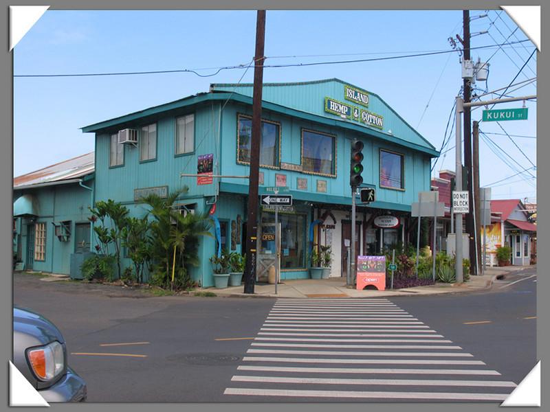 Island architecture, Kapaa, Kauai
