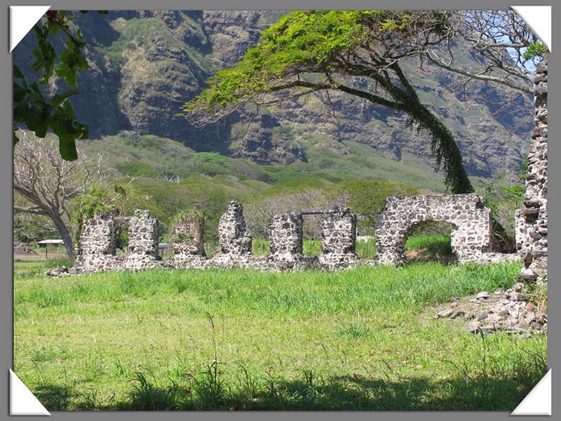 Ruins, east side of Oahu