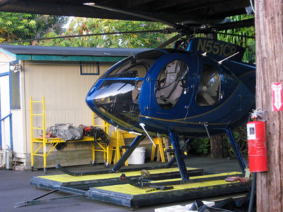 Paradise Helicopter tours takes off from Turtle Bay Resort on the northeastern coast of Oahu